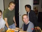 Brendan, Tom, Kei