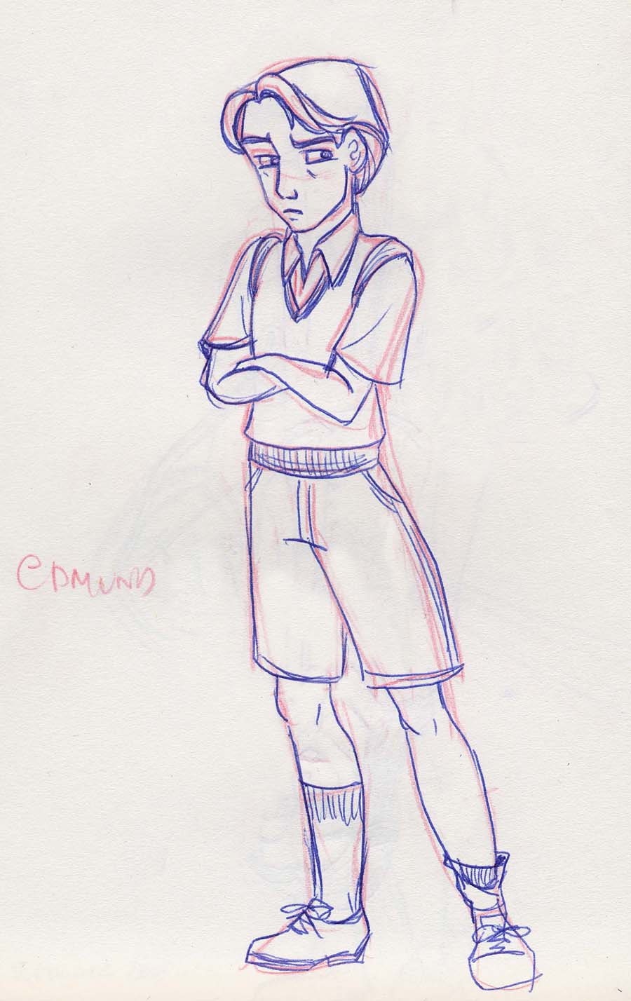 Edmund Pevensie from The Chronicles of Narnia