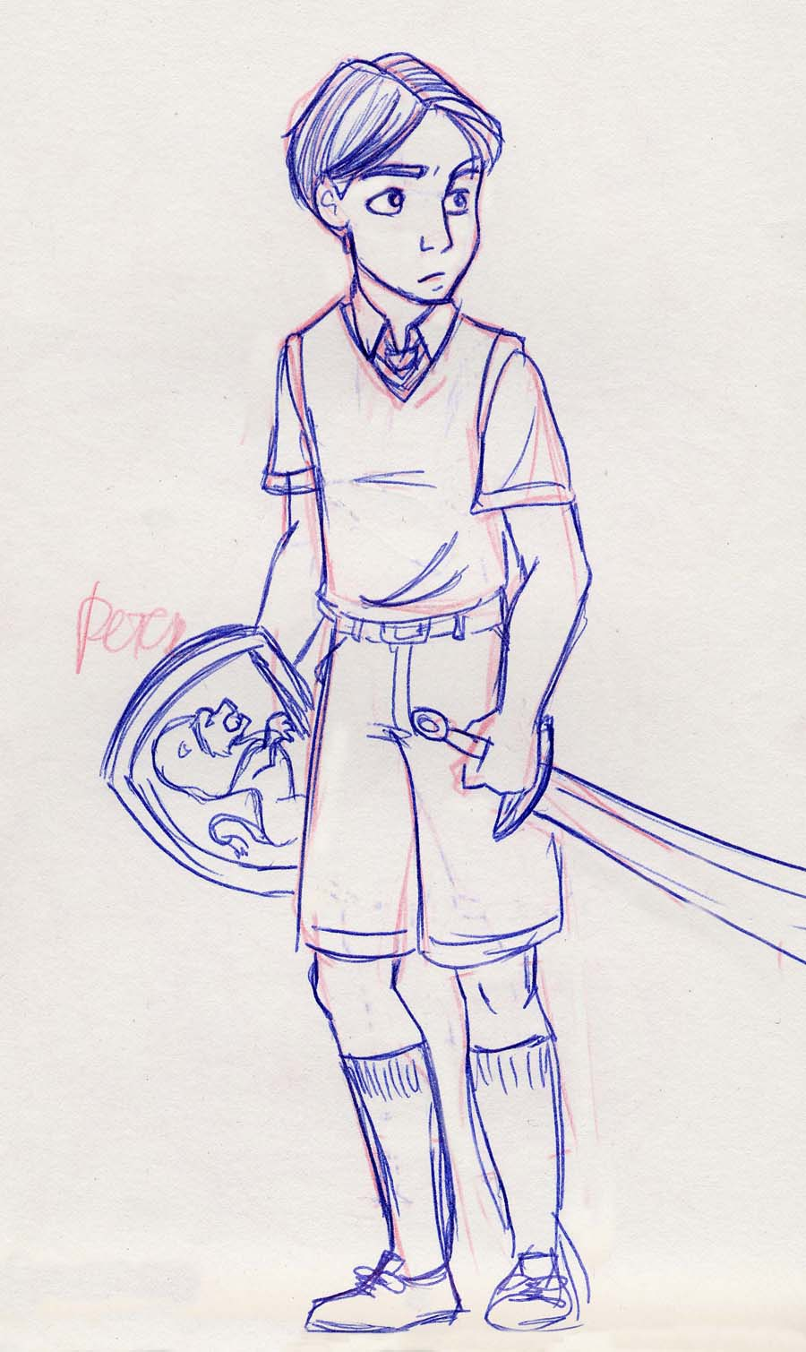 Peter Pevensie from The Chronicles of Narnia