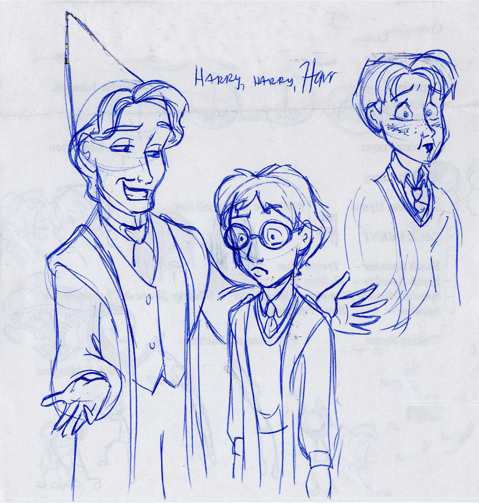 Professor Lockhart gives Harry advice on being a celebrity, and Ron has a problem with slugs thanks to his faulty wand