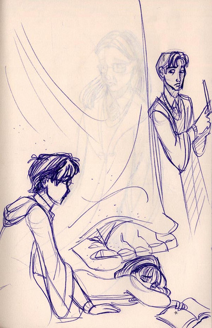 Meeting Tom Riddle in the Chamber of Secrets