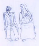 Harry finds Dumbledore at a gleaming King's Cross station, somewhere between life and death.