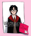 Harry realizes that HE is Undesirable No. 1 when he finds this poster in Umbridge's office.