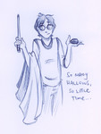 Harry Potter, true descendant of Ignotus Peverell.