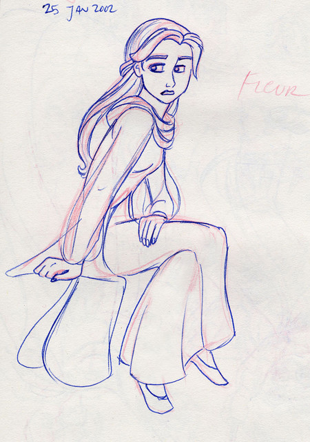 Her Royal Haughtiness, Fleur Delacour