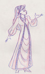 Fleur attends the Yule Ball in the latest French fashions