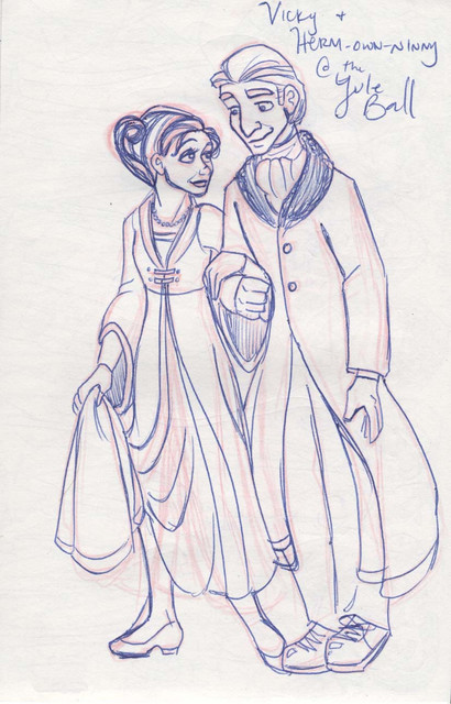 Yule Ball couple