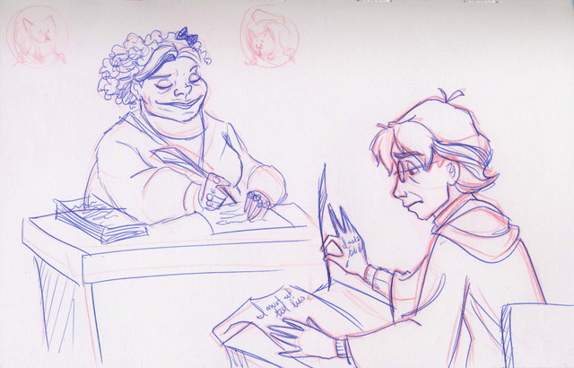 Harry suffers merciless punishment in detention with Professor Umbridge