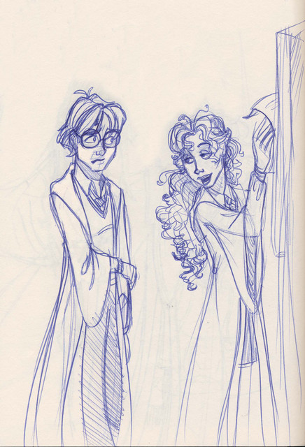 Harry and Luna share a poignant moment near the end of the school year