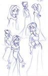 Some recent sketches of Jasmine