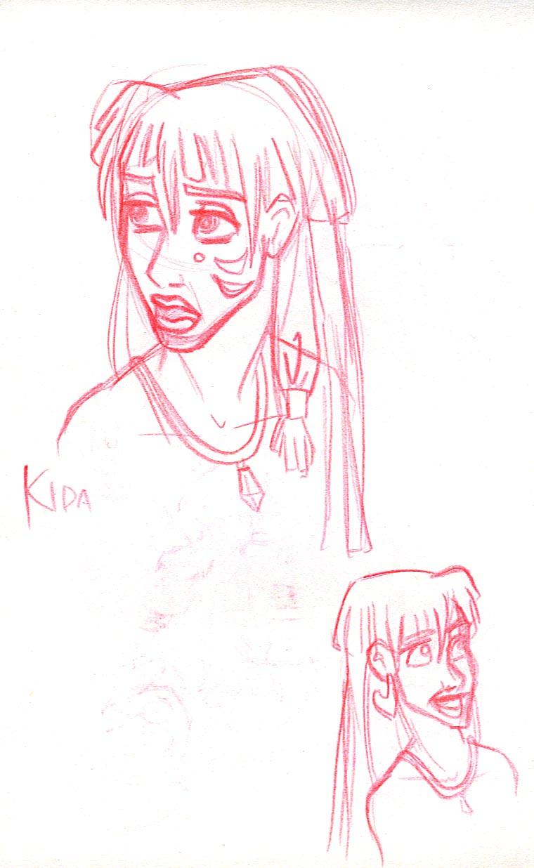 Kida faces