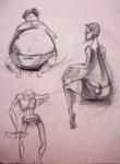Highlight for Album: Character Gesture Drawings