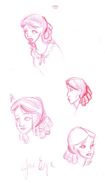 Jane Eyre concept art