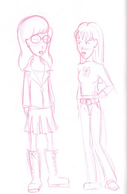 Daria and Quinn Morgendorffer