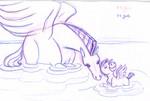 The winged horses of Fantasia