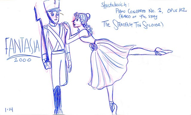 The Steadfast Tin Soldier and his Ballerina