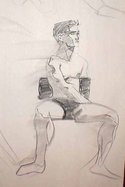 fd man sits