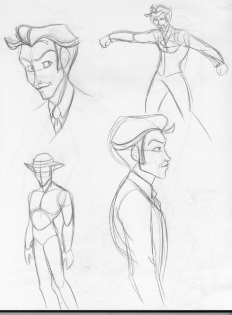 Villain various poses