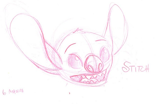 A character sketch of Stitch