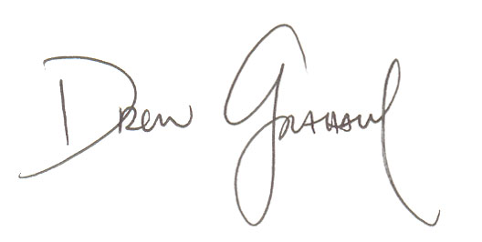 "My current ""autograph"" (ha ha).  PLEASE do not use this for any reason, except with express written permission from me."