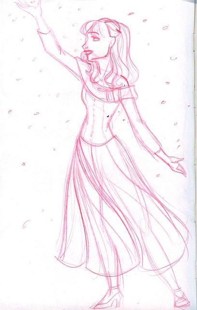 Kim Dances (inspired by Edward Scissorhands)