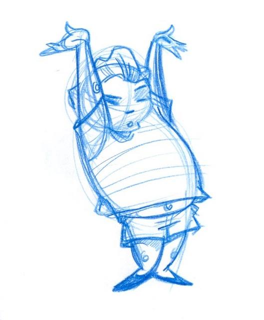 Little fat dancing boy...
