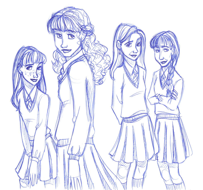 Gryffindor gals