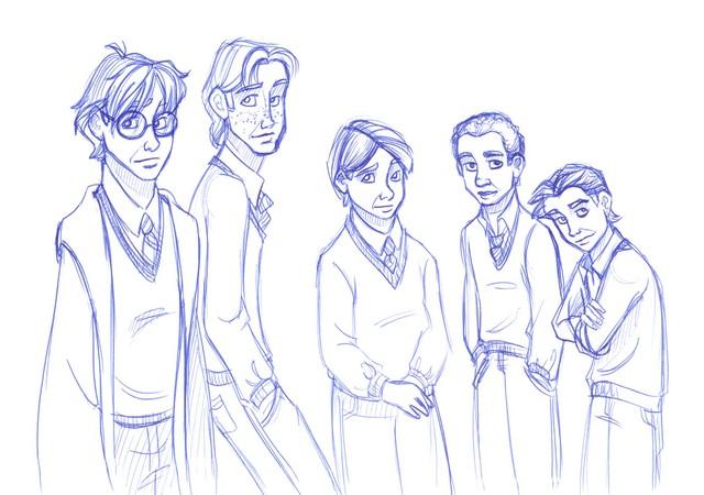 Gryffindor guys