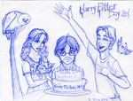Harry Potter's birthday 2004