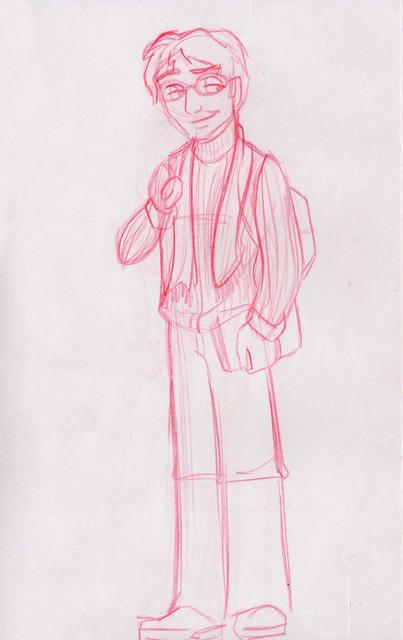 Harry attends Hogwarts University