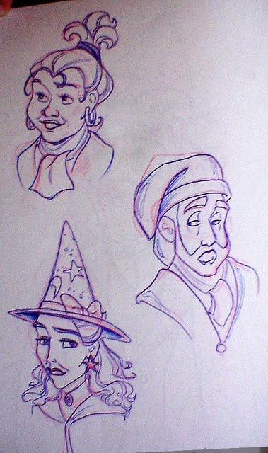 Hogwarts Faculty Montage - Professors Pomona Sprout, Binns and Sinistra
