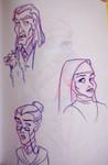 Hogwarts Staff montage - Argus Filch, Poppy Pomfrey, and Irma Pince