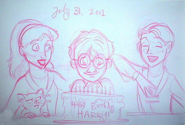 Harry Potter's Birthday 2001
