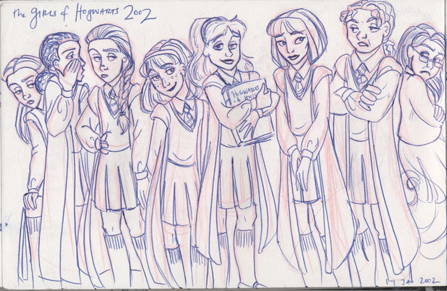 The Girls of Hogwarts