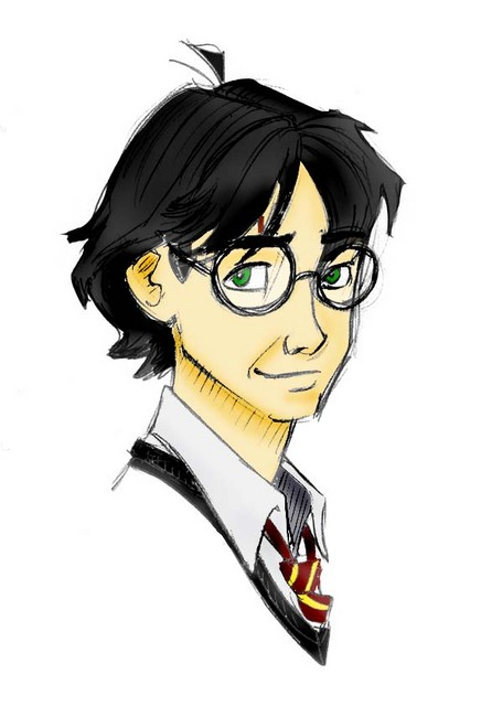 A colored version of The Boy Who Lived