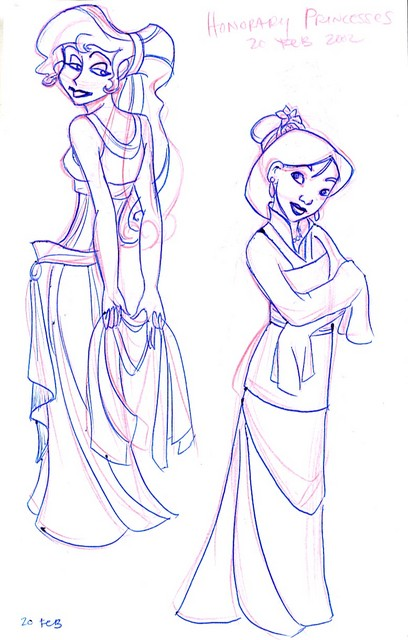 Disney Princesses 4 - Honorable Mention (More like Goddess-in-Training and Savior of China)