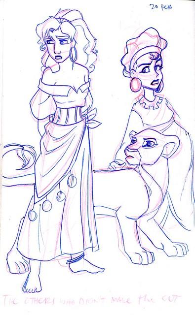 Disney Girls who didn't make the Princess cut