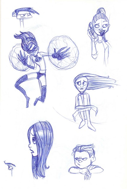 Incredibles sketches