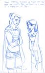 Mulan and Shang chat...