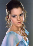 A final look at Hermione in blue