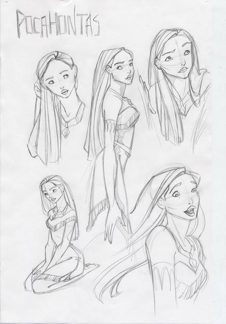 Pocahontas montage
