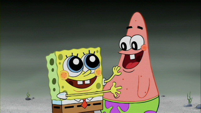 Animated Heroes . . . SpongeBob SquarePants