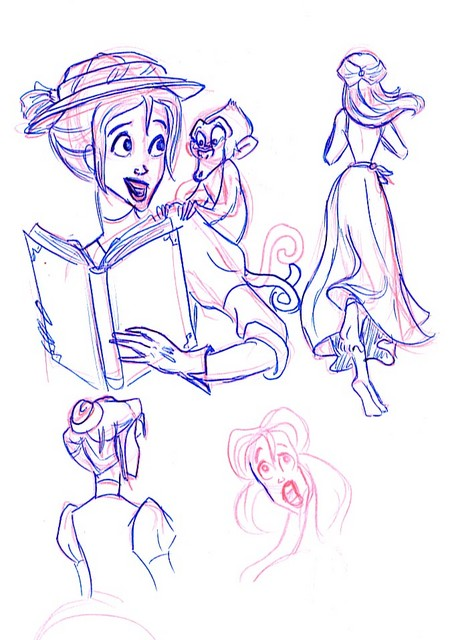 Sketches of Jane