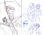 Some early Tarzan drawings